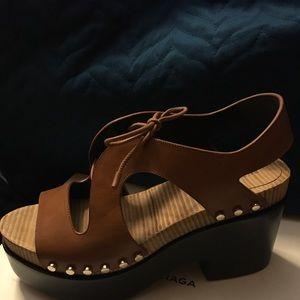 BALENCIAGA sandals fits like a sz 10